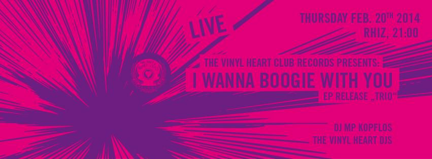 I wanna boogie